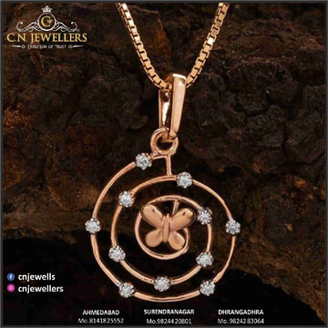 CHAIN PENDENT ROSEGOLD 18CT by