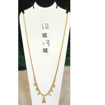 916 Gold Hallmark Modern Pendant chian