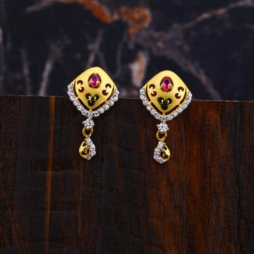Ladies Gold Earrings-LFE101