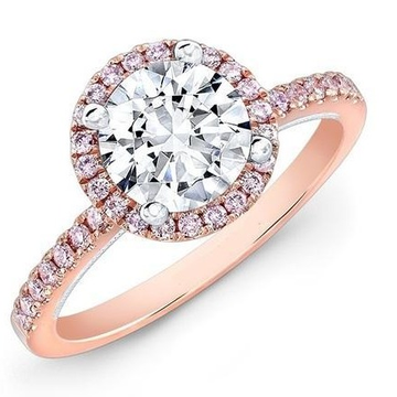22kt gold and one big diamond engagement ring for women jkr002