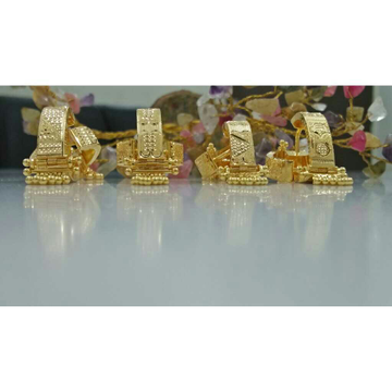 916 Gold UV saip Earring