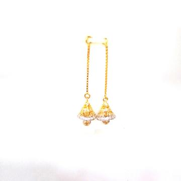 916HM GOLD FANCY DIAMOND LADIES LATKAN by Shreeji Silver Palace