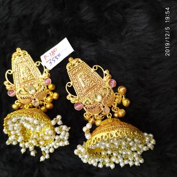 designer antique earrings#202