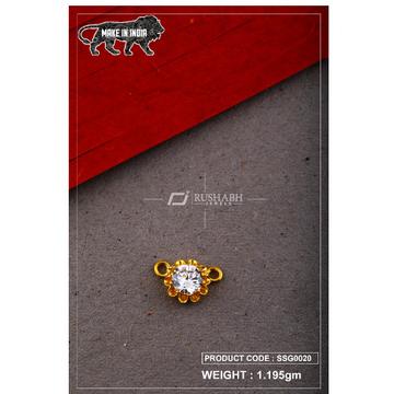 22 Carat 916 Gold Ladies singal stone msp smg0020