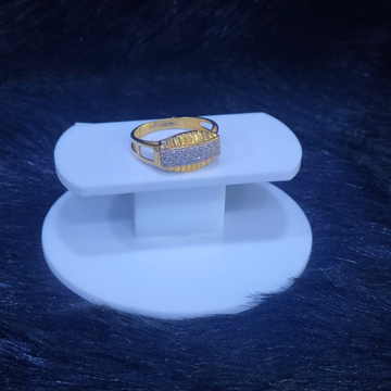 22KT/916 Yellow Gold Coligny Ring For Men