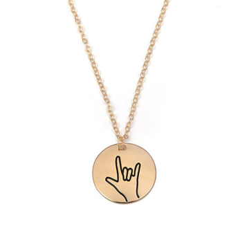 22kt yellow gold chain with yo pendant For Women Jkc018