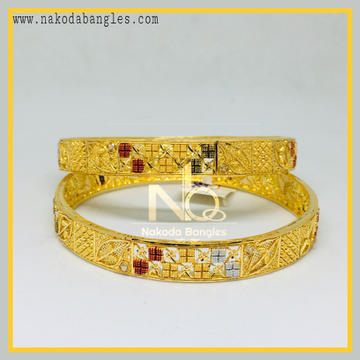 916 Gold Calcutty Bangles NB - 437