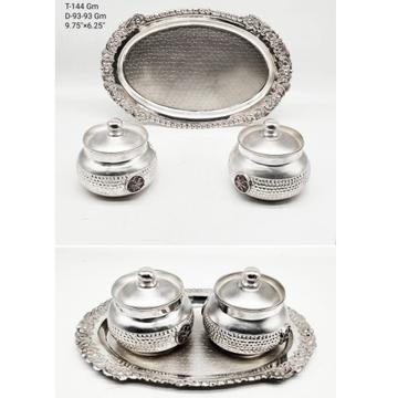 silver mukhwas box RH-TD918