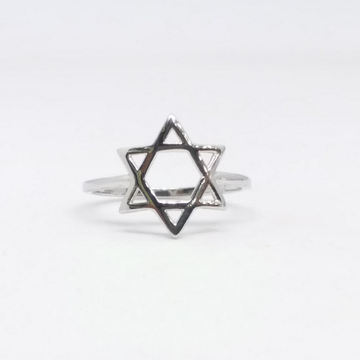 925 Sterling silver plain ladies ring by Zaverat