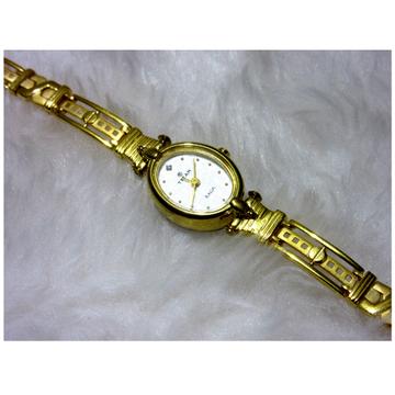gold 22k hm916 modern designer women watch