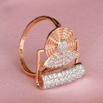 916 Gold Attractive Ring For Women PJ-R030