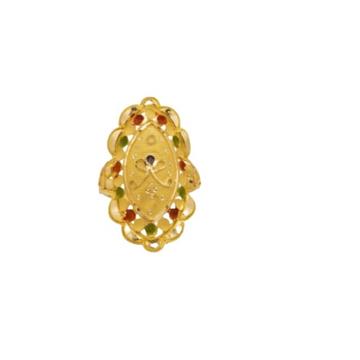 22 k light wt gold ladies ring RJ-LRG-006