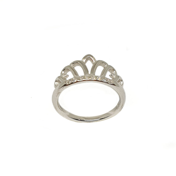 925 Sterling Silver Queen Shaped Ring MGA - LRS3469