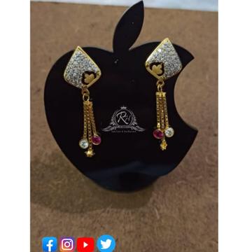 22 carat gold earrings RH-ER436