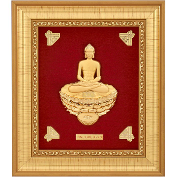 MAHAVIRJI 999 GOLD FRAME by