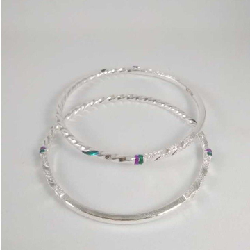 Silver Casting Fancy Bangles. NJ-B01026