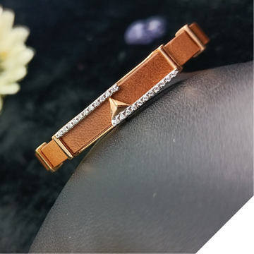18CT GOLD CZ GENTS BELT LUCKY by Ranka Jewellers