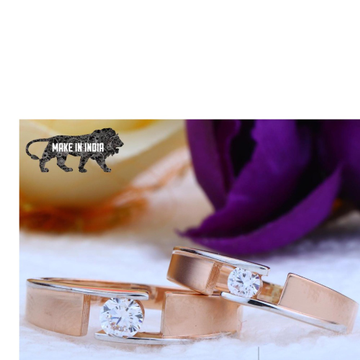 18kt Rose Gold Couple Ring RH-cPR 001