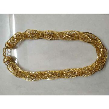 22KT Gold Handmade Rajwadi Thick Gents Chain