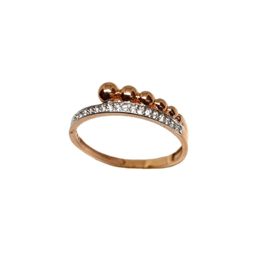 18K Rose Gold Modern Ring MGA - LRG1142