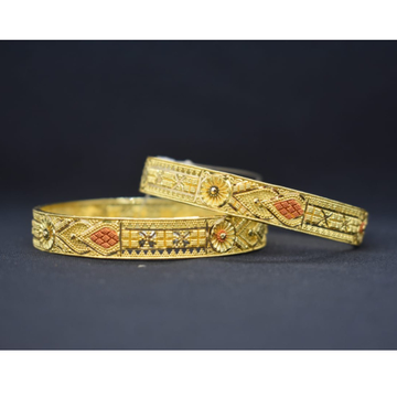 916 Gold Classic Bangle For Women MK-B06 by