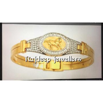 916 Gold Stylish Bracelet For Gents