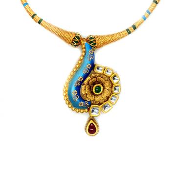 916 Gold Antique Wedding Jewellery RHJ-4827