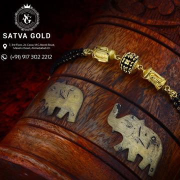 22K Gold Bracelet SGB 36