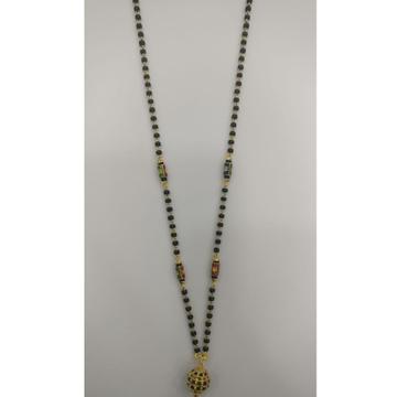 22 carat gold fancy ladies mangalsutra RH-LM942