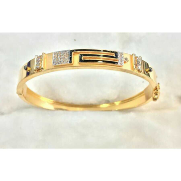 22k Gents Fancy Gold Handmade Kada G-3717