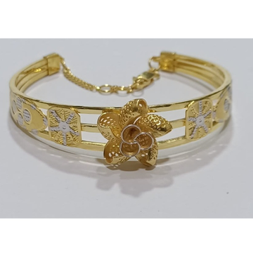 916 gold fancy floral design bracelet sg-b08