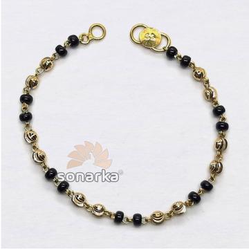 Black Beads Nazariya Bracelet SK-N004