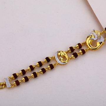 Ganpati Rudraksha Gold Bracelet-MRB03