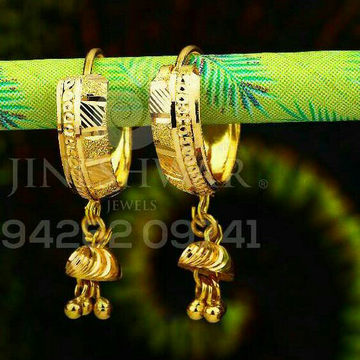 Gold Plain Casting Bali ABG - 0122