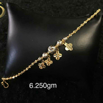 Gold Fancy Ledies Lucky Attractive Dijain by