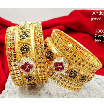 916 Gold Bangle by