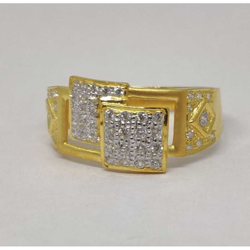 916 Gents Fancy Gold Ring Gr-28640