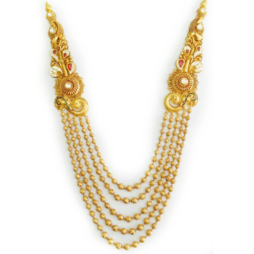 22K Gold Antique Mala MGA - AM002