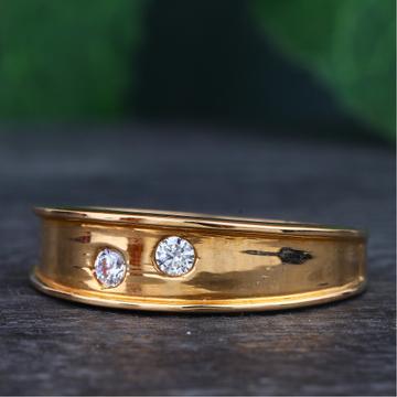 18KT Rose Gold Ring For Women RhJ-32