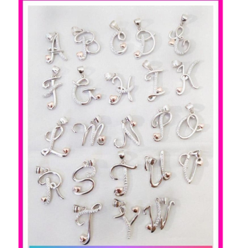 925 starling silver  letter pendal from A To Z RH-925LP