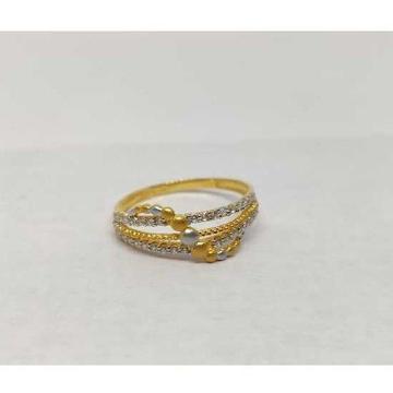 22k Ladies Fancy Gold Ring Lr-17089