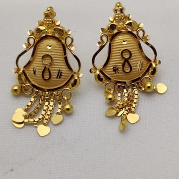 Gold Stylish Tops LMJ-900 by Lalit Manohar Jewellers