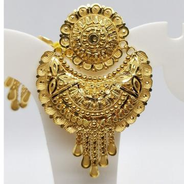 22k Earring Engraved