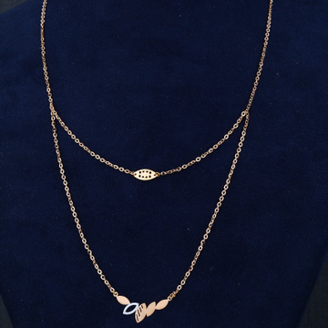 18KT/750  Rose Gold Alaya Pendent Chain For Women