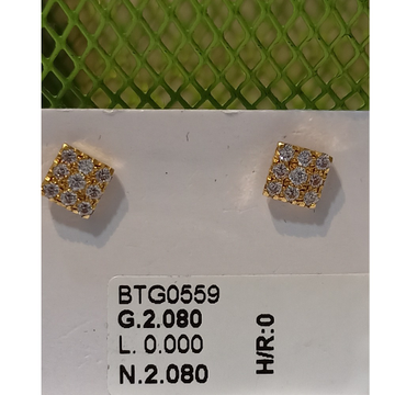 22 KT SQUARE DIAMOND TOPS by