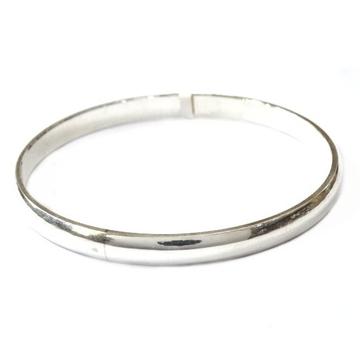 925 Sterling Silver Gents Kada Bracelet MGA - KRS0110