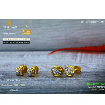 18kt attractive fancy solitar stone tops stg -0099
