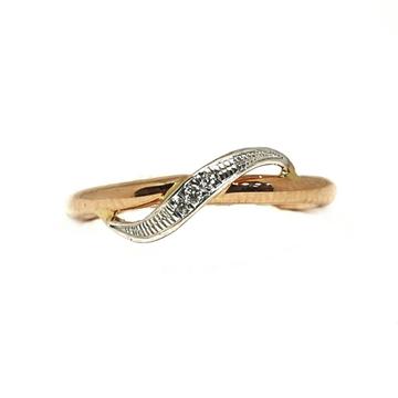 18K Rose Gold Real Diamond Ring MGA - RDR003
