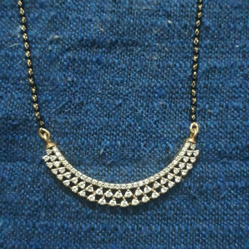 22kt 916 Gold Fancy Mangalsutra by