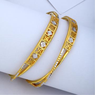 22KT Gold Sathiya Designer Copper Kadli